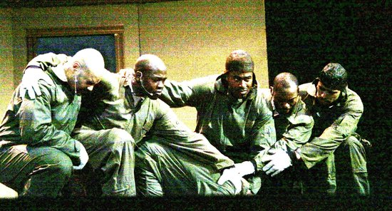 Black Angels over Tuskegee at The Actor's Temple: a pivotal moment in the play