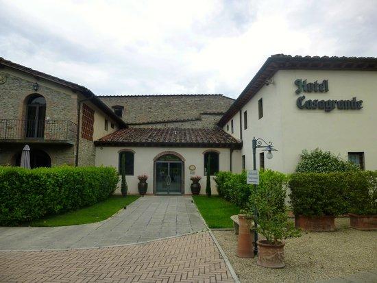 Hotel Villa Casagrande: Front of Hotel