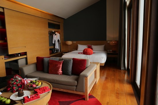 W Retreat Koh Samui: Bedroom area