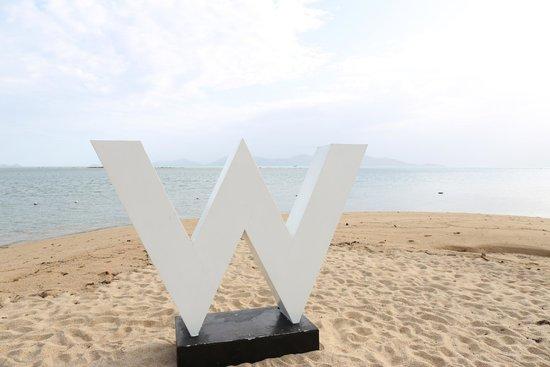 W Retreat Koh Samui: The beach