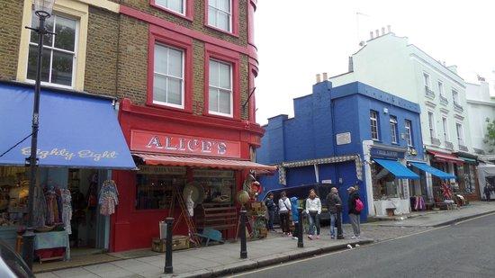 Notting Hill: Alice's, para comprar vajilla