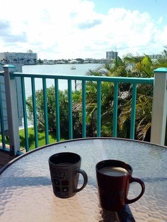 Five Palms Condominium Resort : Our morning view