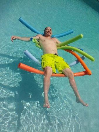 Five Palms Condominium Resort: Pool noodles!