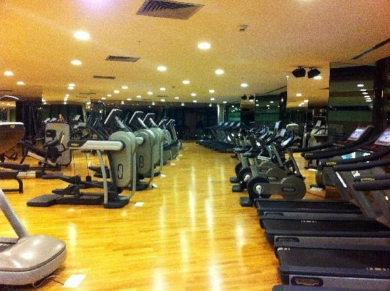 Crowne Plaza Istanbul Asia : gym