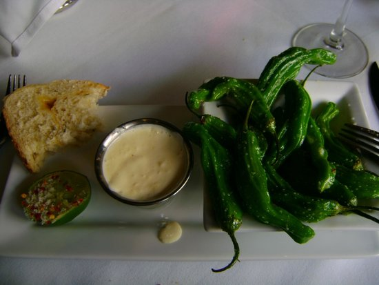Stanley Hotel : Shishito Peppers
