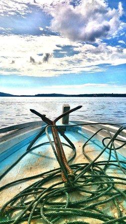 Bunaken National Marine Park: dari manado menuju bunaken dengan kapal motor (boat)