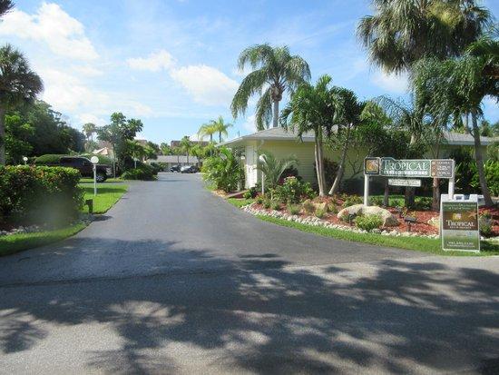 Tropical Beach Resorts : Vista do estacionamento