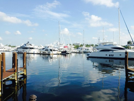 Bahia Cabana Restaurant & Bar : dining on the intercoastal waterway...