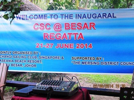 Aseania Resort Pulau Besar : Inaugural CSC@P.Besar Regatta