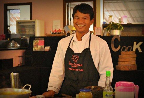 The River Garden: The Khmer smile
