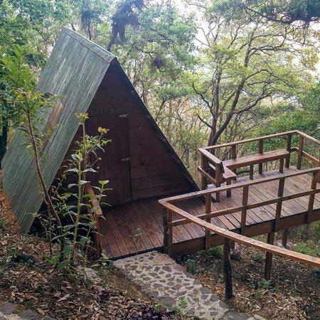 Earth Lodge: Cabin