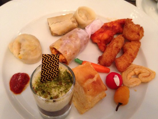 The Taj Mahal Palace : Variety of Food