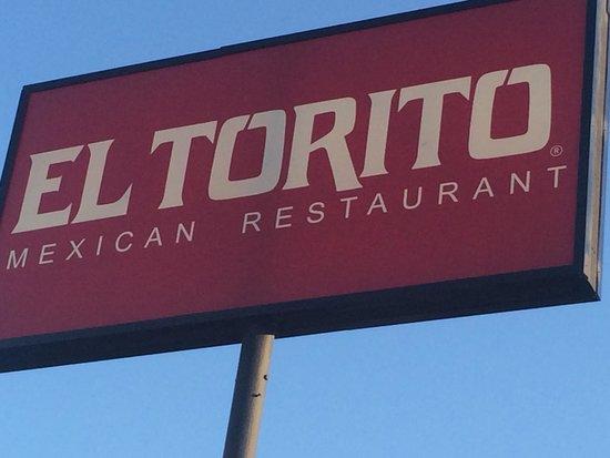 El Torito Mexican Restaurant : El Torito sign