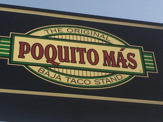 Poquito Mas: Sign