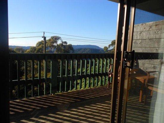 Binna Burra Mountain Lodge: View from the room.