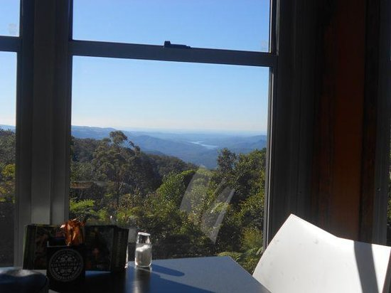 Binna Burra Mountain Lodge: View from the Tea House at lunch time.