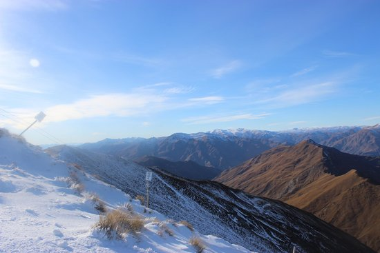 Coronet Peak: View from the tops of Coronet Express