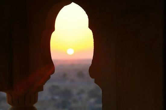 Hotel Garh Jaisal Haveli : SunRise
