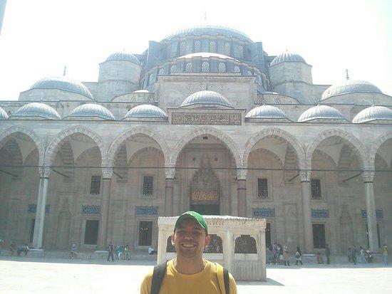 Suleymaniye Mosque: Que arquitetura extraordinária!