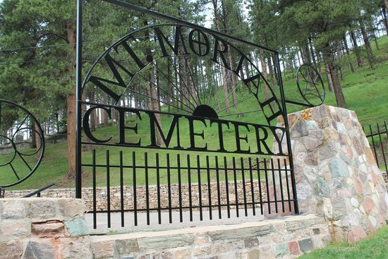 Mount Moriah Cemetery: The gate to Moriah Cemetery