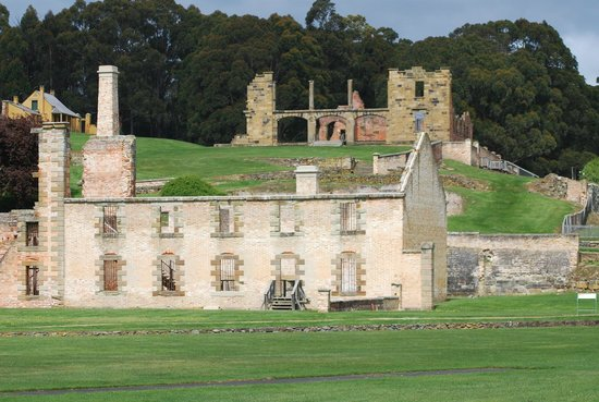 Site historique de Port Arthur : Port Arthur old ruins