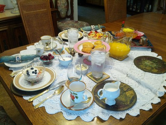 Abbotswood House Bed and Breakfast: Our sumptuous breakfast