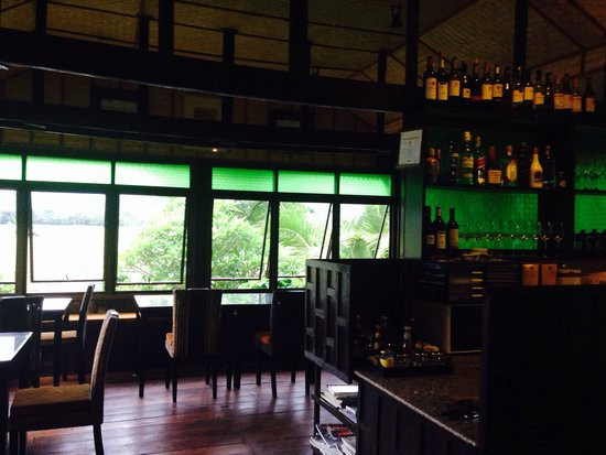 Soulmates Retreat: The restaurant with mountain and paddy field view