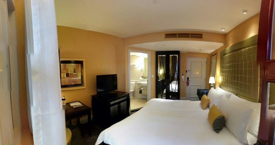 The Scarlet Singapore: A panoramic view of room 206