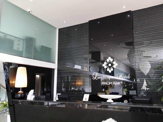 โรงแรมแลนด์สเคป: Hotel Lobby