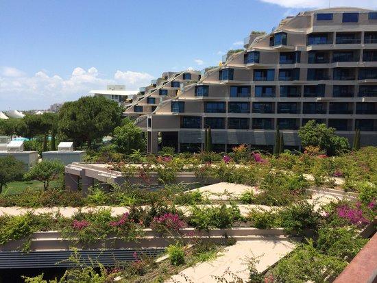 Susesi Luxury Resort : Очень красивая и ухоженная территория
