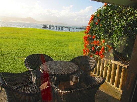 Copthorne Hotel & Resort Hokianga: our private deck