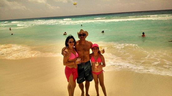 Paradisus Cancun : playa