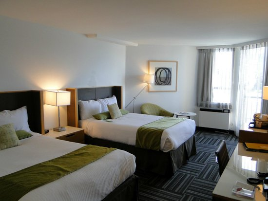 Coast Bastion Hotel: Room at 5th floor