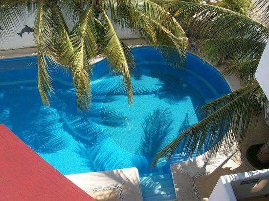 Hotel Bahia Huatulco: Vista desde 2 piso