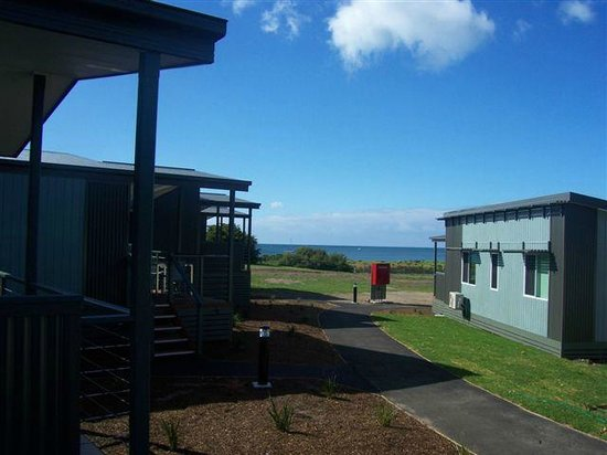 Victor Harbor Beachfront Holiday Park: View from Waterview Cabins