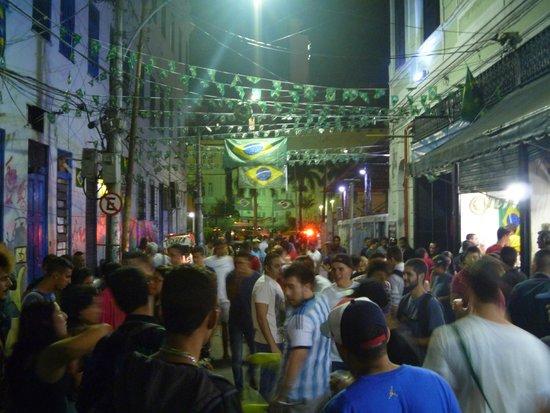 Arcos Da Lapa : At night..