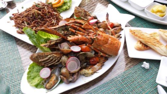 The Westin Langkawi Resort & Spa: Sea food platter at TIDE restaurant