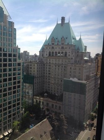 Hyatt Regency Vancouver: view from my room