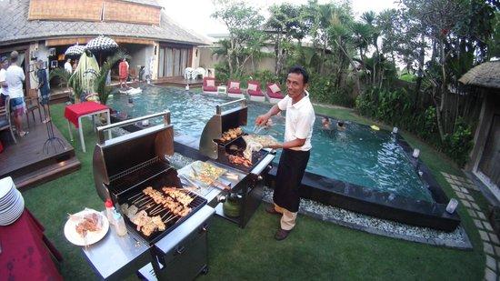 Space at Bali : In Villa BBQ