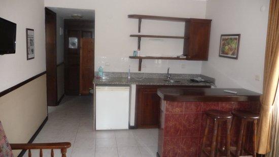 Hisar Holiday Club: Full size fridge etc