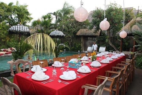 Space at Bali: Beautiful celebration
