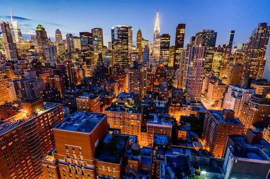 Dumont NYC–an Affinia hotel: The amazing Midtown view from the room!