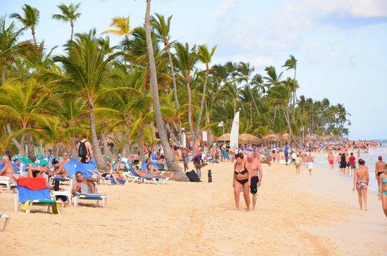 Hotel Riu Palace Punta Cana: Пляж как в Майми )