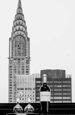 Dumont NYC–an Affinia hotel: Complimentary bottle of wine