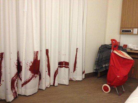 Novotel Sydney Olympic Park Relaxing Room Or Horror Movie Scene
