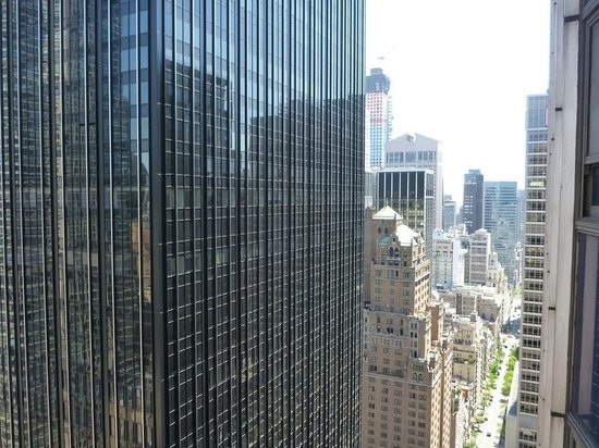 New York Hilton Midtown: View to right from window