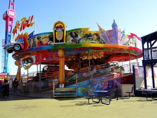 Steel Pier Amusement Park : Ride on Steel Pier