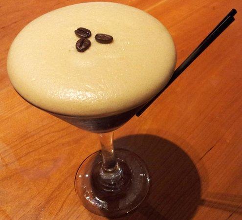 Mussel and Steak Bar: Espresso Martini Cocktail