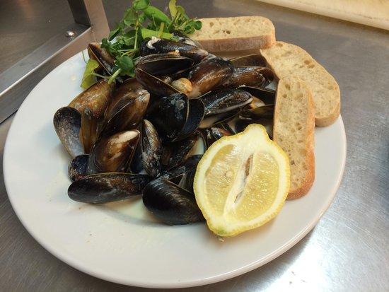Κόβεντρυ, UK: Mussels new menu.