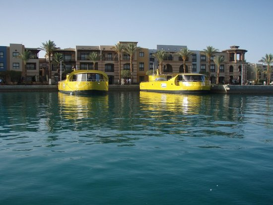 Siva Port Ghalib : Набережная Порт Галиба (вид из бесплатного водного такси)